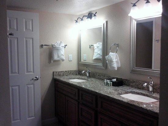 Orlando's Sunshine Resort : Master bath...gorgeous!