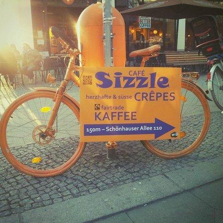 Cafe Sizzle: Sizzle bike at U/S Schönhauser Allee