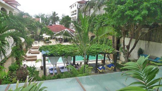 Le Soleil de Boracay: We live on the 2nd floor!!!