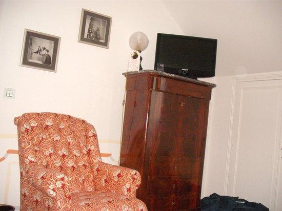 Domaine De Kerbastic: le fauteuil est très confortable