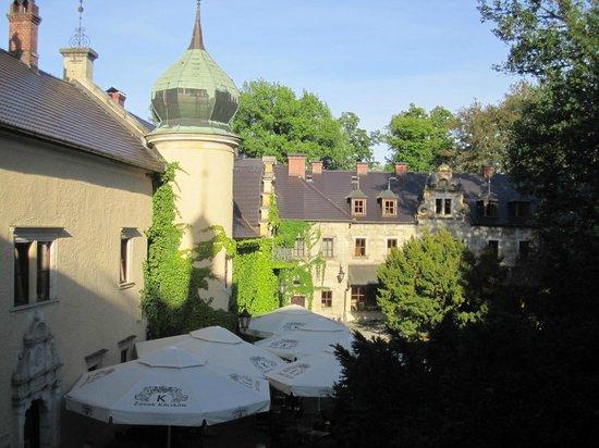 Kliczkow Castle : zicht op zijmuren
