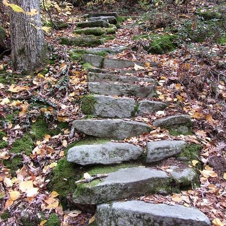 Warren, Pensilvania: The path leading to the rock formations