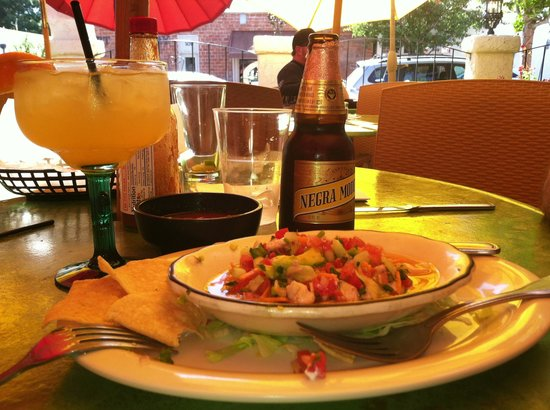 Agave Maria's: Ceviche and Pixie-rita