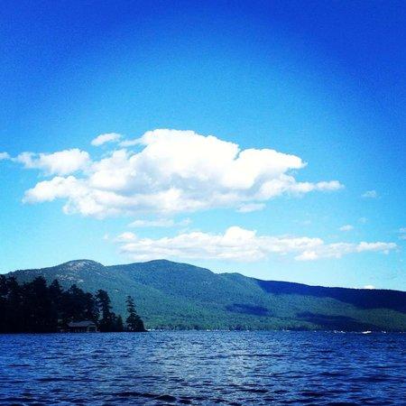Chelka Lodge on Lake George : Gorgeous view