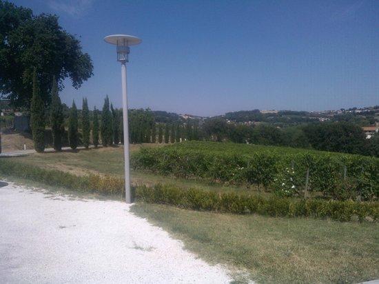 Locanda Fontezoppa: Panorama ingresso