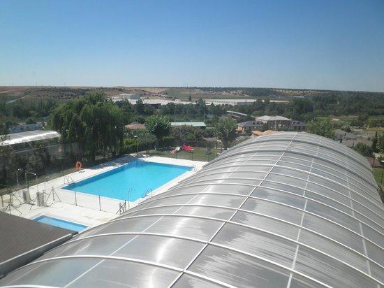 Hotel Dona Brigida: Piscina