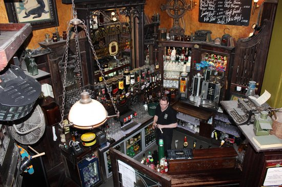 The bar - Picture of O'Reilly's Irish Pub, Brussels