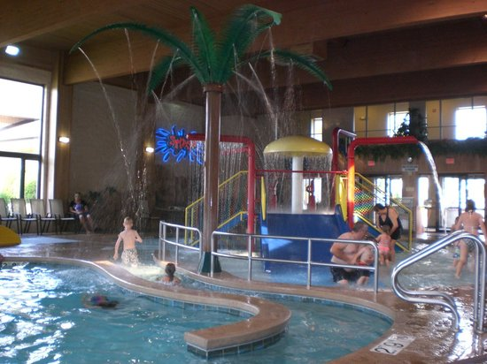 Comfort Suites: Fun for all ages in the pool