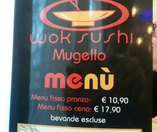Wok Sushi Mugello: Sushi Wok Mugello