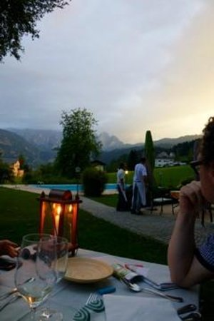 Landhaus Koller : outdoor dinner
