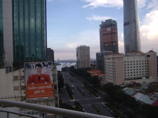 Palace Hotel Saigon: View from room