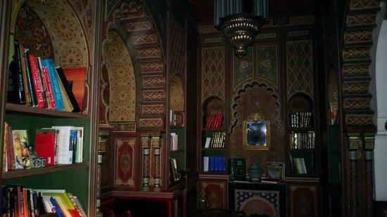Palais Faraj Suites & Spa: La bibliothèque