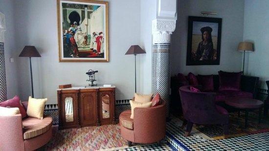 Palais Faraj Suites & Spa: L'un des salons - parties communes de l'hôtel