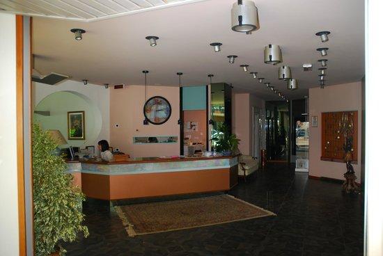 Hotel Negresco : La réception avec Gloria