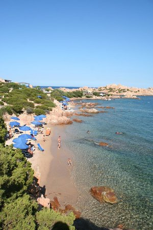 Hotel Cala Lunga: la playa