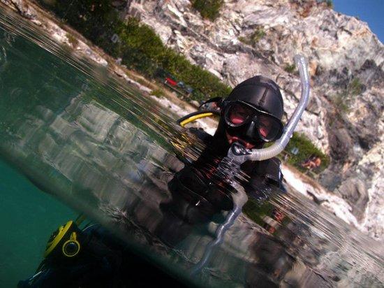 Delfinus Plongee: Plongeur 1