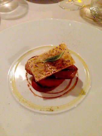 Lou Cigalon: Escalope de foie gras poêlée