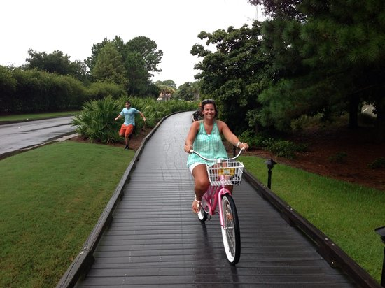Sandestin Golf and Beach Resort: Biking at Sandestin