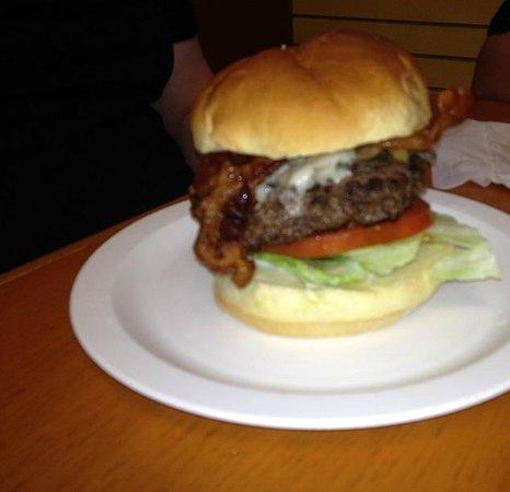 Col. Mustard's Phat Burgers: Bacon, Mushroom, Swiss