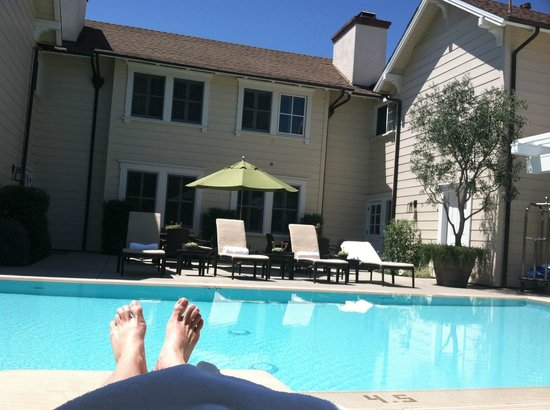 Fess Parker Wine Country Inn: Poolside