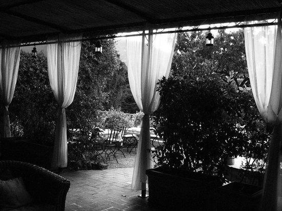 Le Sughere : Vista della Veranda