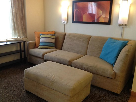 Hyatt House Chicago/Schaumburg: Couch