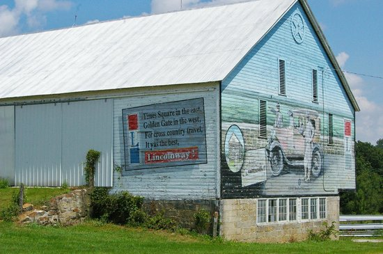 The Historic Lincoln Highway: Murals sponsored by Lincoln Highway Heritate corridor