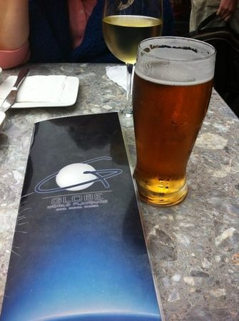 Globe World Flavors: cold beer