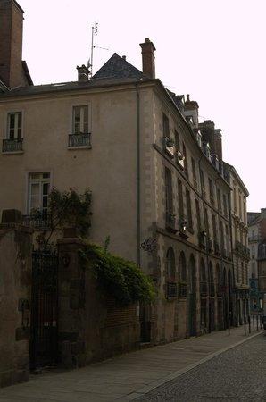 La Maison de Bertrand : La facciata