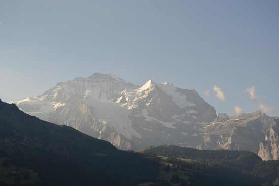 Hotel Bellevue: View of the Jungfrau