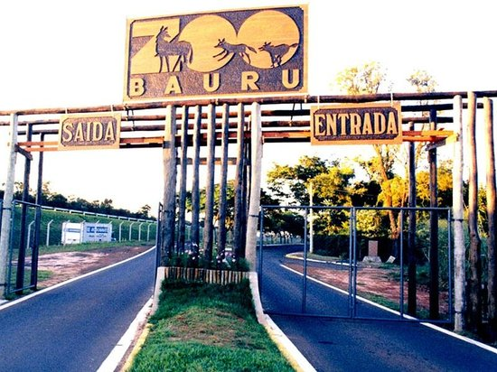 Bauru, SP: Entrada do Zoo