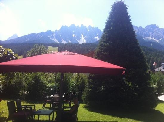 Hotel Garni Senfter: vista sulle montagne