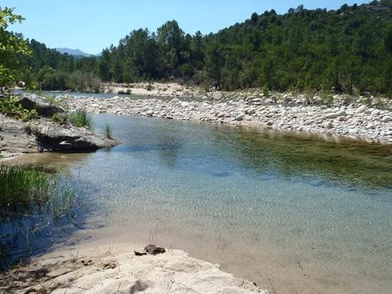 A Pinzutella : La rivière