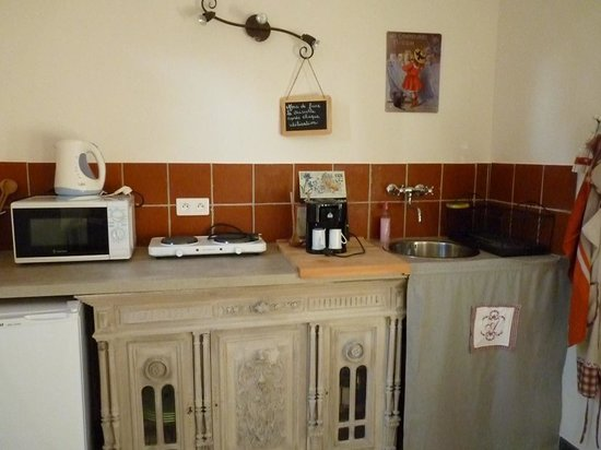 La Margotte : Cuisine chambre Colline