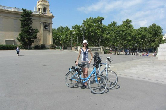 Bornbike Barcelona : Montjuic Bike Tour