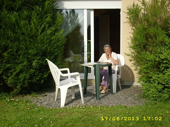 Ferme de Rosembois : view from garden