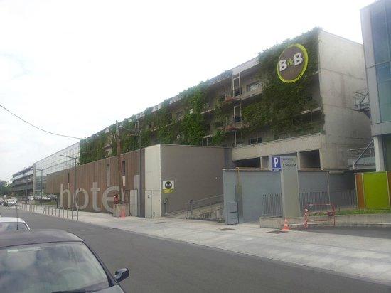 B&B Hotel Lille Tourcoing Centre : La Facciata