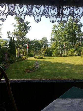 Chemong Lodge: View from our table