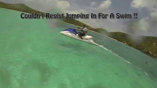 Blue Rush Water Sports And Jet Ski Rentals Inc. : Jumping In