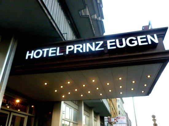 Hotel Prinz Eugen : Esterno