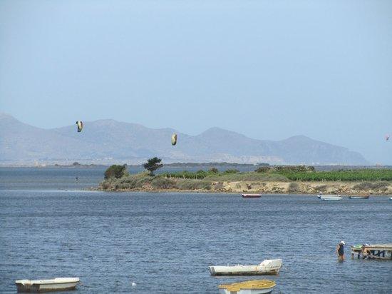 Laguna dei Fenici : dalla terrazza
