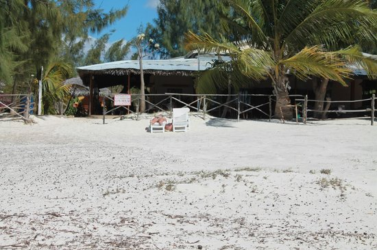 Royal Sakalava : hôtel vue de la plage
