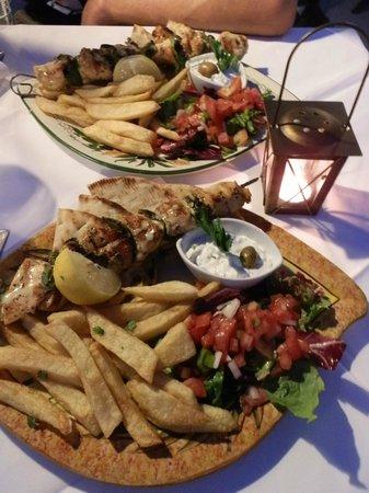 Kalypso Restaurant : Gyros di pollo