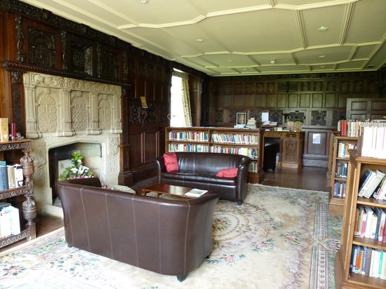 Launde Abbey: The library
