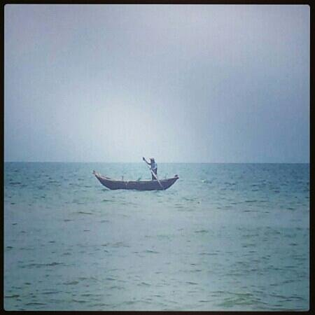 Ana Mandara Hue: Local fishingboat.