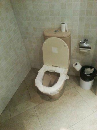 City Park Sant Just : Toilettes de l'accueil ....