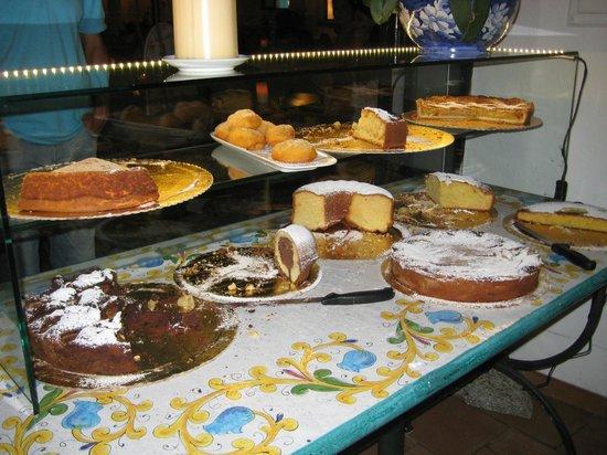 Ristorante Dal Pescatore: torte