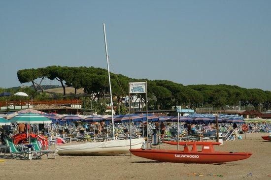 Hotel Saint Tropez: il lido