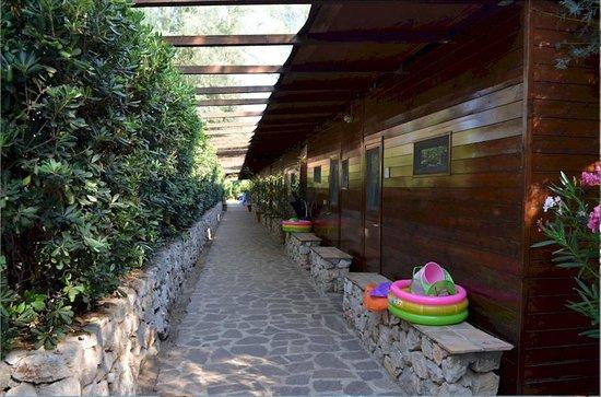 Hotel Villaggio Torre San Vito: Bungalow nella quiete.