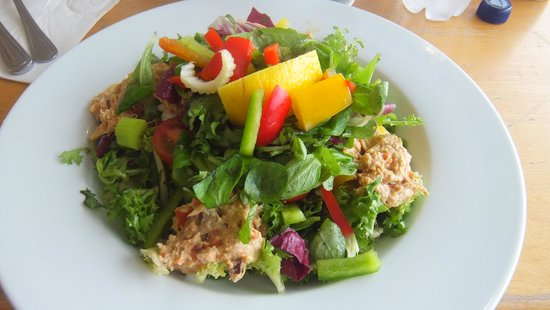 The Sound Visitor Centre Cafe: Crab salad
